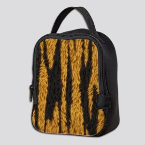 Tiger Stripes Neoprene Lunch Bag
