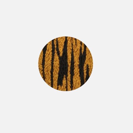 Tiger Stripes Mini Button