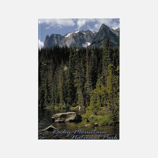 Rocky Mountain Vista Rectangle Magnet