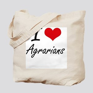I love Agrarians Tote Bag