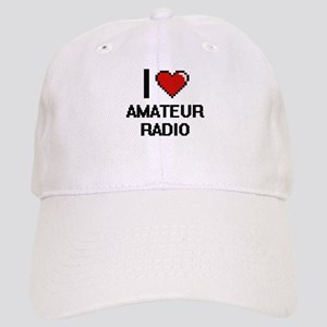 I Love Amateur Radio Digital Design Cap