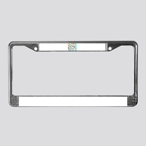 CRPS RSD Changing the Name Doe License Plate Frame