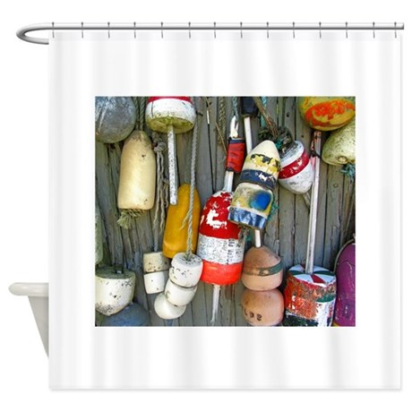 Lobster Floats 1 Shower Curtain