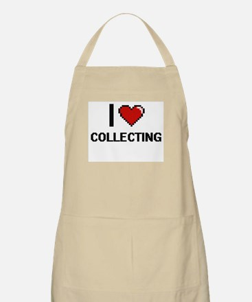 I Love Collecting Digital Design Apron