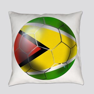 Guyana Football Everyday Pillow