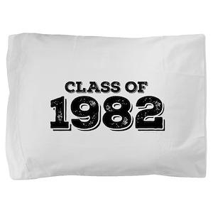 Class of 1982 Pillow Sham