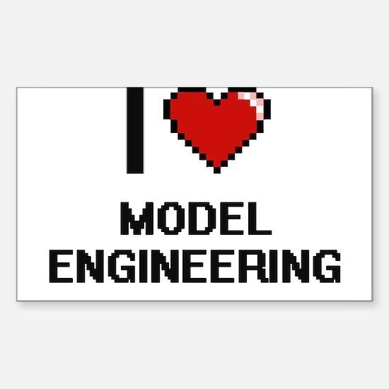 I Love Model Engineering Digital Design Decal