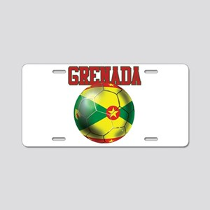 Grenada Football Aluminum License Plate