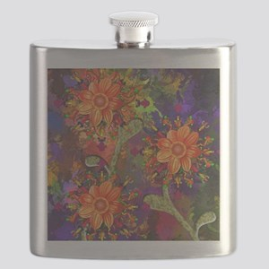 Fall Floral - Fine Art Flask