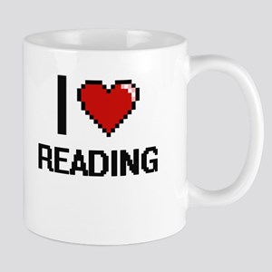 I Love Reading Digital Design Mugs