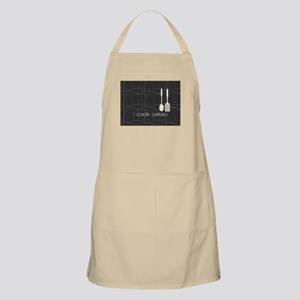 I Cook Paleo Hobby Kitchen Chef Logo Apron