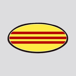 Square South Vietnamese Flag Patch