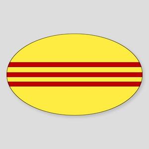 Square South Vietnamese Flag Sticker