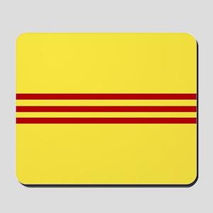 Square South Vietnamese Flag Mousepad