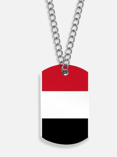 Yemen Flag Dog Tags