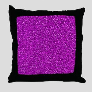 Sparkling Glitter Throw Pillow