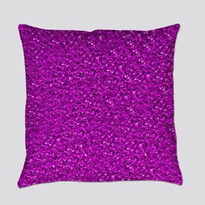 Sparkling Glitter Everyday Pillow