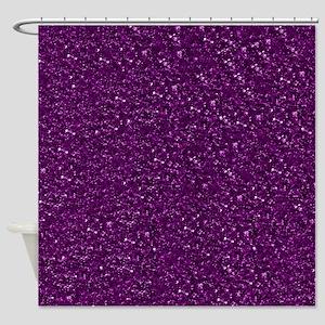 Sparkling Glitter Shower Curtain