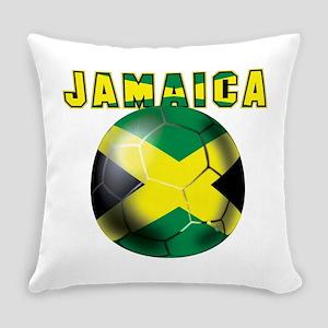 Jamaican Football Everyday Pillow