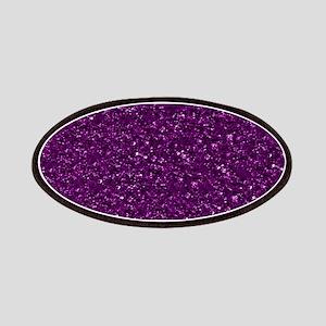Sparkling Glitter, plum Patch