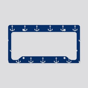 Nautical Elements License Plate Holder