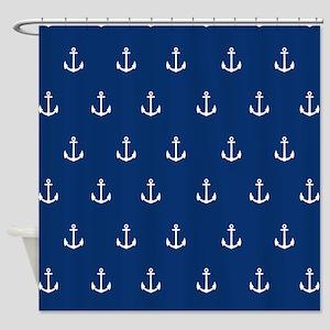 Nautical Elements Shower Curtain