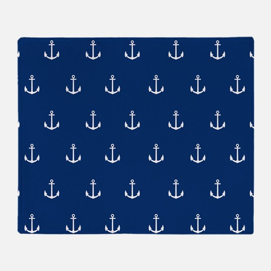 Nautical Elements Throw Blanket