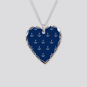 Nautical Elements Necklace Heart Charm