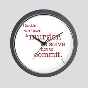 Murder to solve Wall Clock