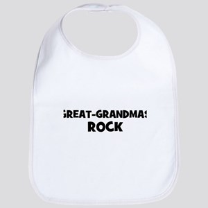 Great-Grandmas Rock Bib