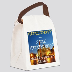 Still Protesting? Canvas Lunch Bag