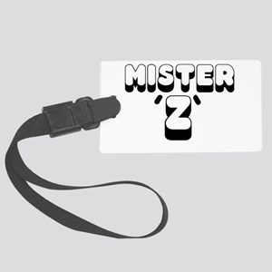 MISTER Z - Large Luggage Tag