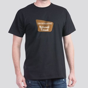 San Bernardino National Forest (Sign) Dark T-Shirt