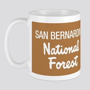 San Bernardino National Forest (Sign) Mug