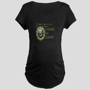 Tough as Teddy Maternity Dark T-Shirt