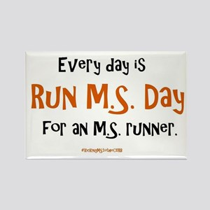 Every Day is Run MS Day for an MS runner. Magnets