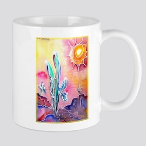 Desert, bright, southwest art! Mugs