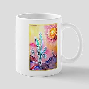 Desert, bright, southwest art! Mugs