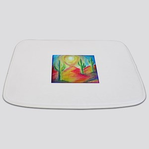 Desert, Southwest art! Bathmat