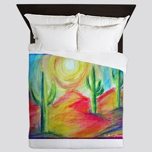 Desert, Southwest art! Queen Duvet