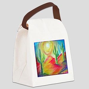 Desert, Southwest art! Canvas Lunch Bag
