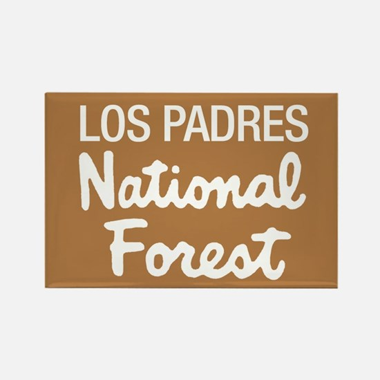 Los Padres (Sign) National Fo Rectangle Magnet