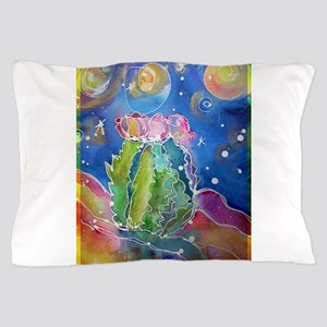 cactus at night! soutwest art! Pillow Case