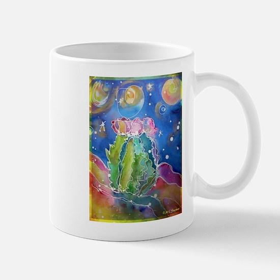 cactus at night! soutwest art! Mugs