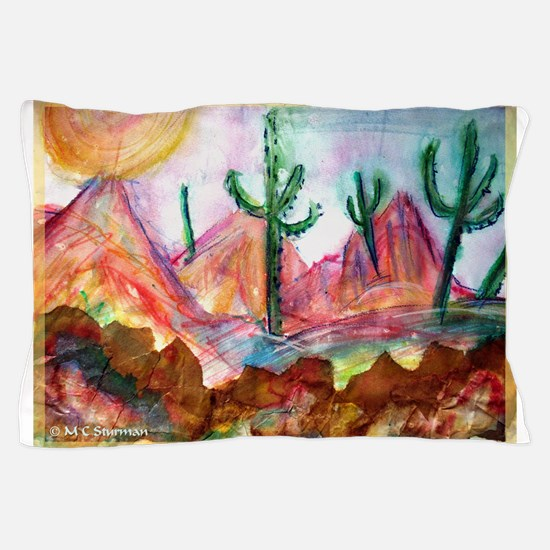 Desert! Southwest art! Pillow Case