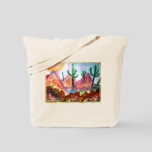 Desert! Southwest art! Tote Bag