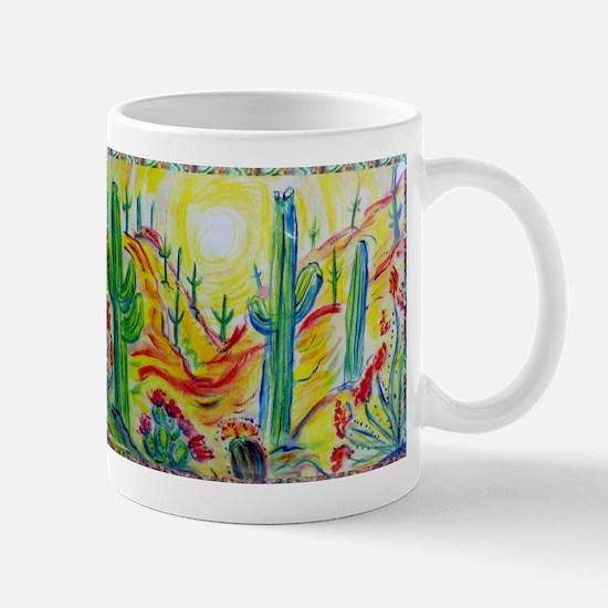 Saguaro Cactus, desert Southwest art! Mugs