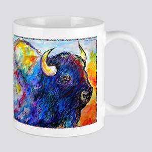 Buffalo, colorful art! Mugs