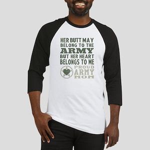 Proud Army Mom 2 Baseball Jersey