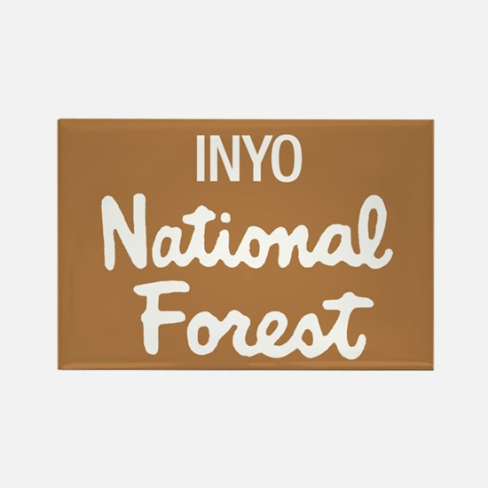 Inyo (Sign) National Forest Rectangle Magnet